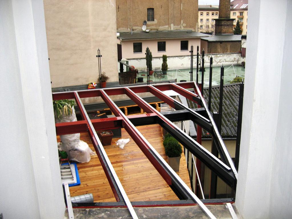 Stahl Balkon